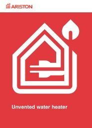 Ariston Unvented Water Heater - Heatingspares247.com