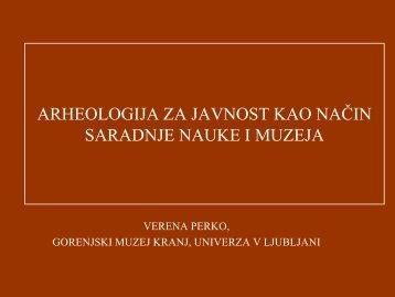 1. Verana Preko - ICOM-SEE