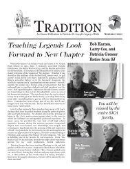 tradition - Wisconsin Public and Private School Directory Listings for ...