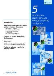 5. Detergenti. Dezinfectanti. Produse pentru curatenie - tehnoplus ...