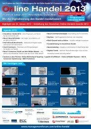 23. und 24. Januar 2013 - Management Forum der Verlagsgruppe ...