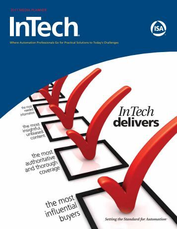 Download 2011 InTech Media Planner - Automation.com