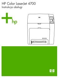 HP Color LaserJet 4700 – PLWW - Centrum Druku