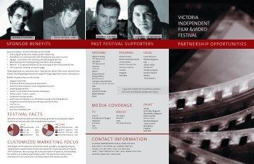 VICTORIA INDEPENDENT FILM &VIDEO FESTIVAL