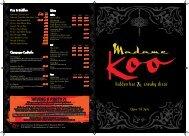 drink - Madame Koo