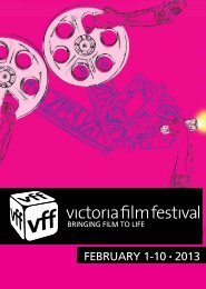 2013 program guide - Victoria Film Festival