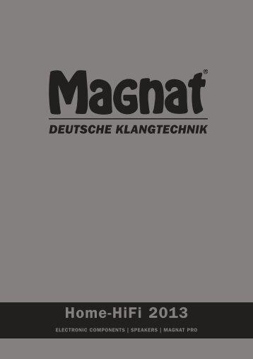 Home-HiFi 2013 - Magnat