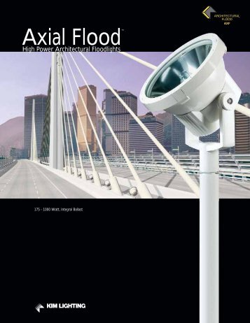 Axial Flood™ - Kim Lighting