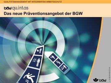 Qualitätsmanagement mit integriertem Arbeitsschutz