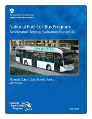 National Fuel Cell Bus Program: Accelerated Testing ... - AC Transit