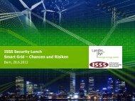 Sicherheitsaspekte und Lösungen im Smart Grid - ISSS
