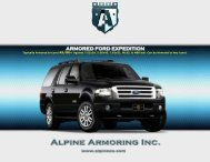 ARMORED FORD EXPEDITION - Alpine Armoring Inc.