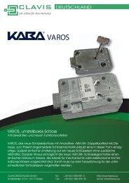 DOWNLOAD PDF Prospekt VAROS - Clavis Deutschland GmbH