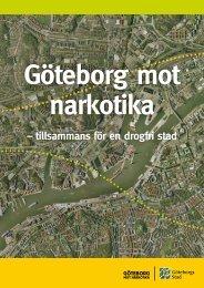 – tillsammans för en drogfri stad - Göteborg