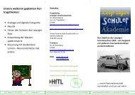 Flyer Uranunfall - Hochschule für Telekommunikation Leipzig