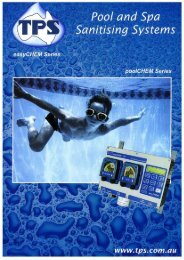 Download the full colour TPS Pool Products Brochure (2.05 MB PDF).