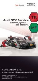 Audi STK Service - Auto Jarov