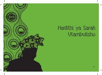 Hadithi ya Sarah Utambulisho - Raising Voices