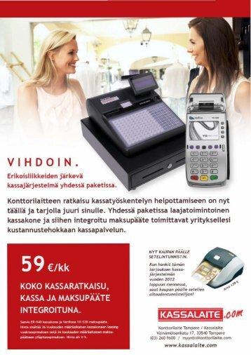 Kassajärjestelmätarjous SAM4S ER-940 & VERIFONE ... - Konttorilaite