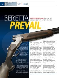 beretta prevail - Clay Shooting USA