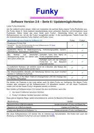 Software Version 2.6 – Serie 6 ... - von Bea und This