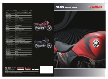 ALBA Electric Start - India Yamaha Motor Pvt. Ltd.