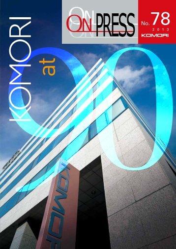 see PDF file - Komori