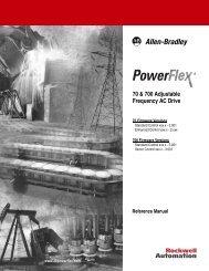 PowerFlex 70 & 700 Adjustable Frequency AC Drive