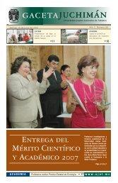 Viernes 15 de junio del 2007 - Publicaciones - Universidad Juárez ...