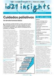 Cuidados paliativos - Asociación Derecho a Morir Dignamente