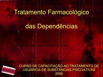 Tratamento Dependência - Palestras Diversas