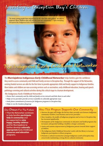 The Indigenous Early Childhood Networker - Working Planet