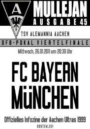 Ausgabe 45 - Aachen Ultras