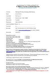 Ausschreibung: C-Turnier Übersee 2013 - Wittelsbuerger
