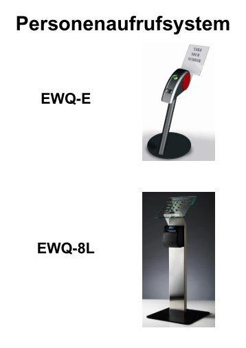 Personenaufrufsystem EWQ-E - HSO Bopp