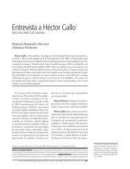 Entrevista a Héctor Gallo1 - Universidad de San Buenaventura Cali