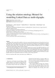 Using the relation ontology Metarel for modelling Linked Data as ...