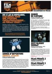 19 octobre 2012 - Festival européen du film court de Brest