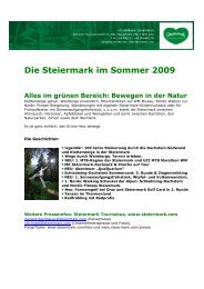 Pressetext (PDF) - Presse - Steiermark