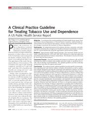 A Clinical Practice Guideline for Treating Tobacco Use ... - WhyQuit