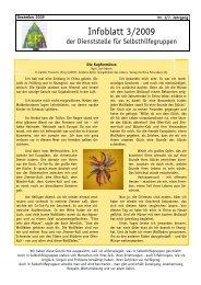 Infoblatt 3/2009 - Dachverband für Soziales und Gesundheit
