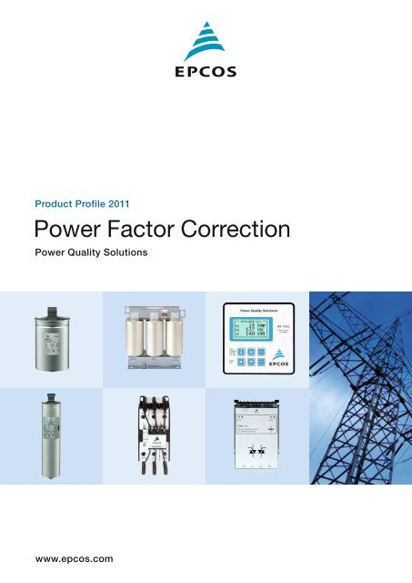 EPCOS Film Capacitors Power Factor Correction Product Profile