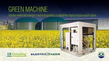 Prezentace Green Machine-CZ - GB Consulting, s.r.o.