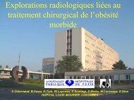 Explorations radiologiques liées au traitement chirurgical de l ...
