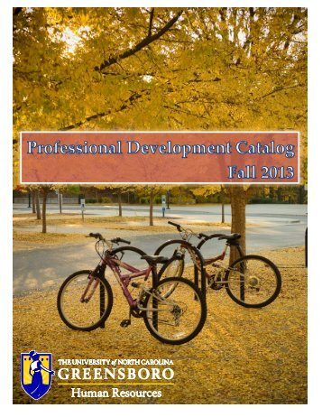 HRS Training Catalogue - The University of North Carolina at ...