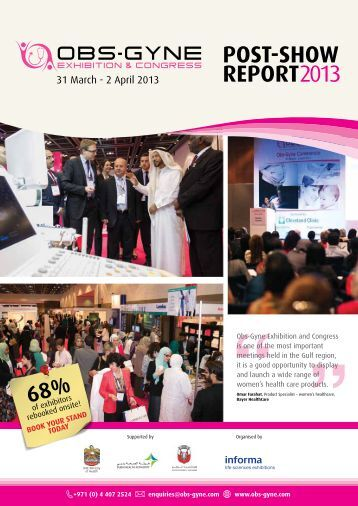 POST-SHOW REPORT2013 - IIR Middle East