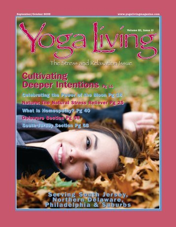 Cultivating Deeper Intentions Pg 14 - Yoga Living Magazine