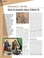 Tirés à part n°136 - Sous le panache blanc d'Henri IV (pdf - 448,51 ko