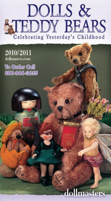 Doll & Teddy Bear Catalog - Dollmasters