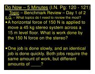 2014-01-21 -Benchmark Review - Day 1 of 2 - CW